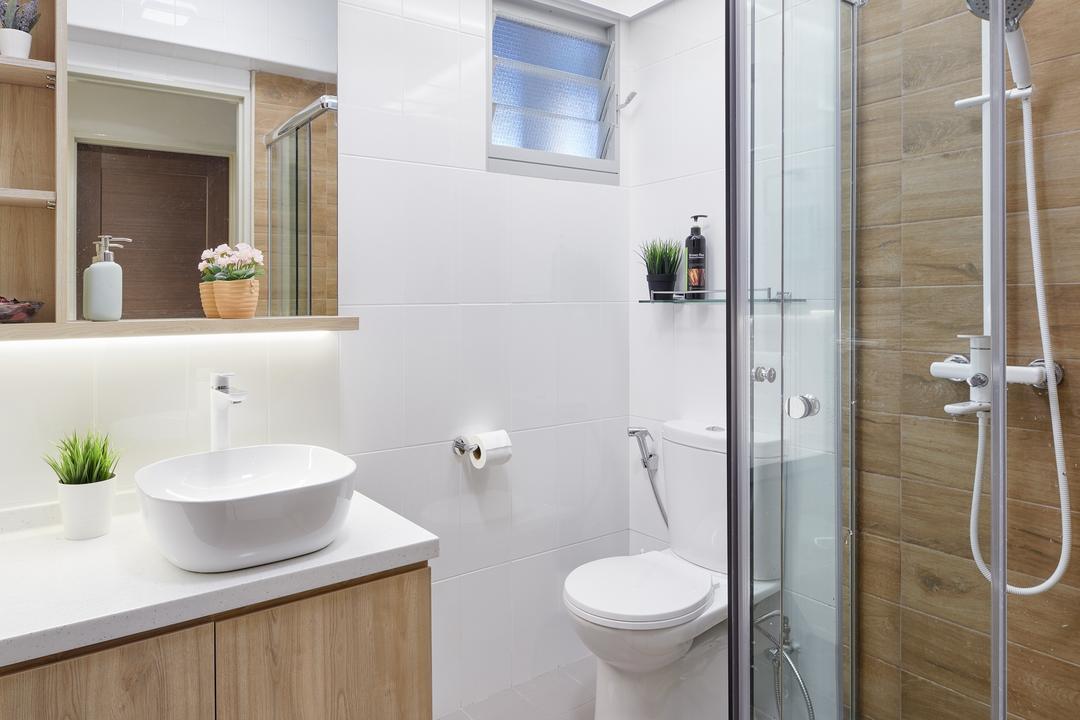 The Verandah @Matilda, Absolook Interior Design, Modern, Bathroom, HDB, Plumbing, Shower, Indoors, Interior Design, Room, Toilet