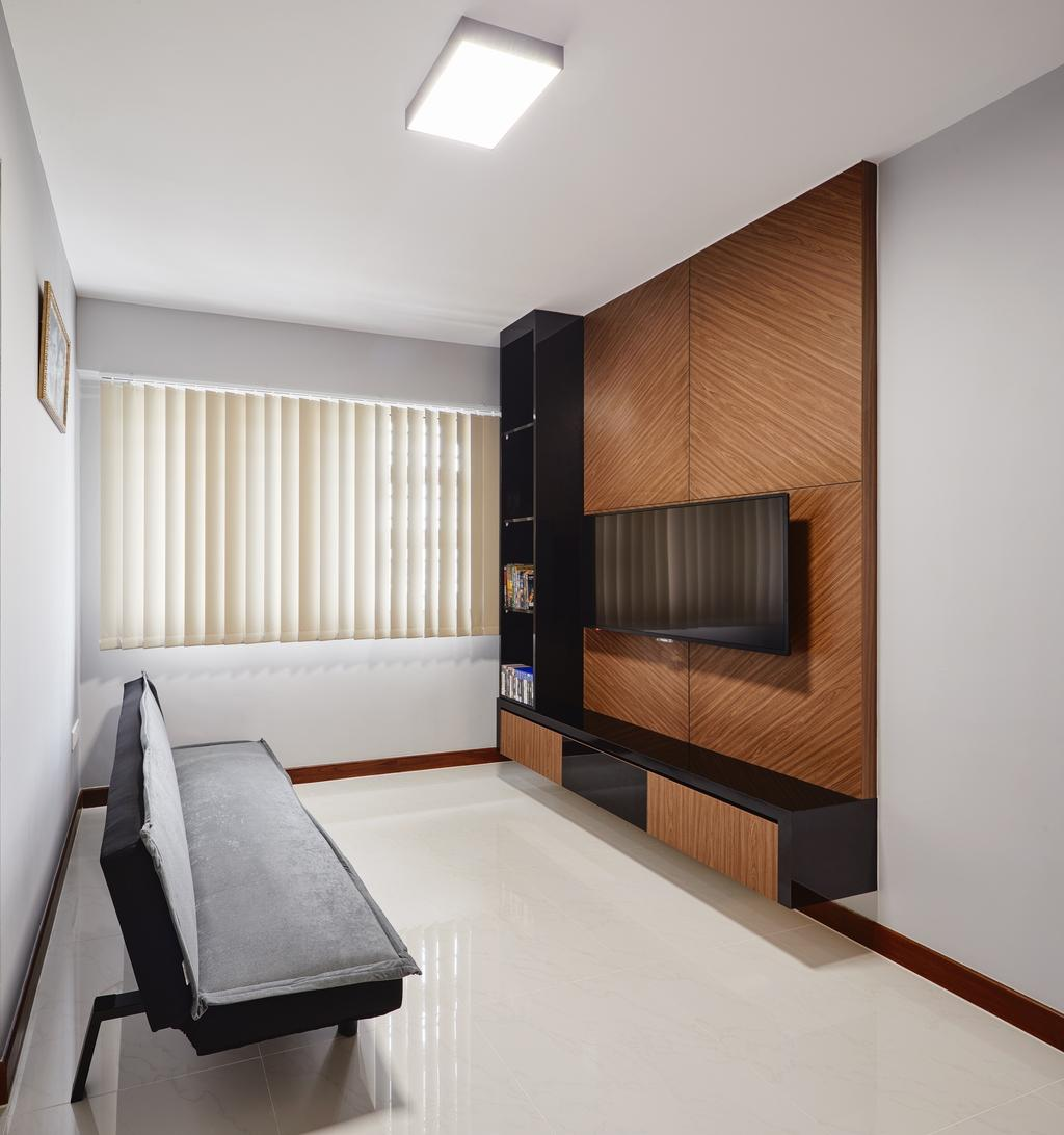 Modern, HDB, Study, Woodlands Pasture II, Interior Designer, Absolook Interior Design, Indoors, Interior Design