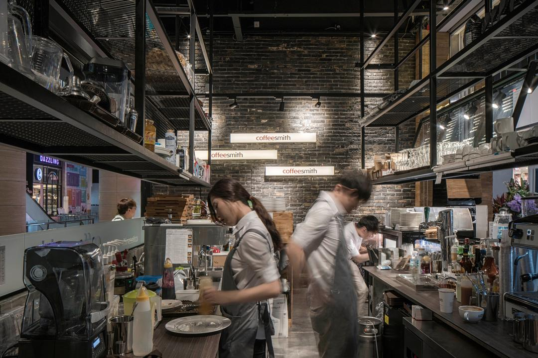 Coffeesmith, Ethereall, Industrial, Commercial, Human, People, Person