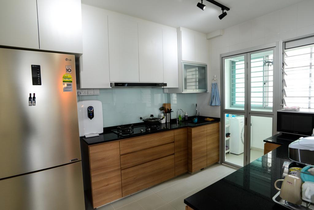 Modern, HDB, Kitchen, Clementi Avenue 4, Interior Designer, Tab Gallery, Scandinavian