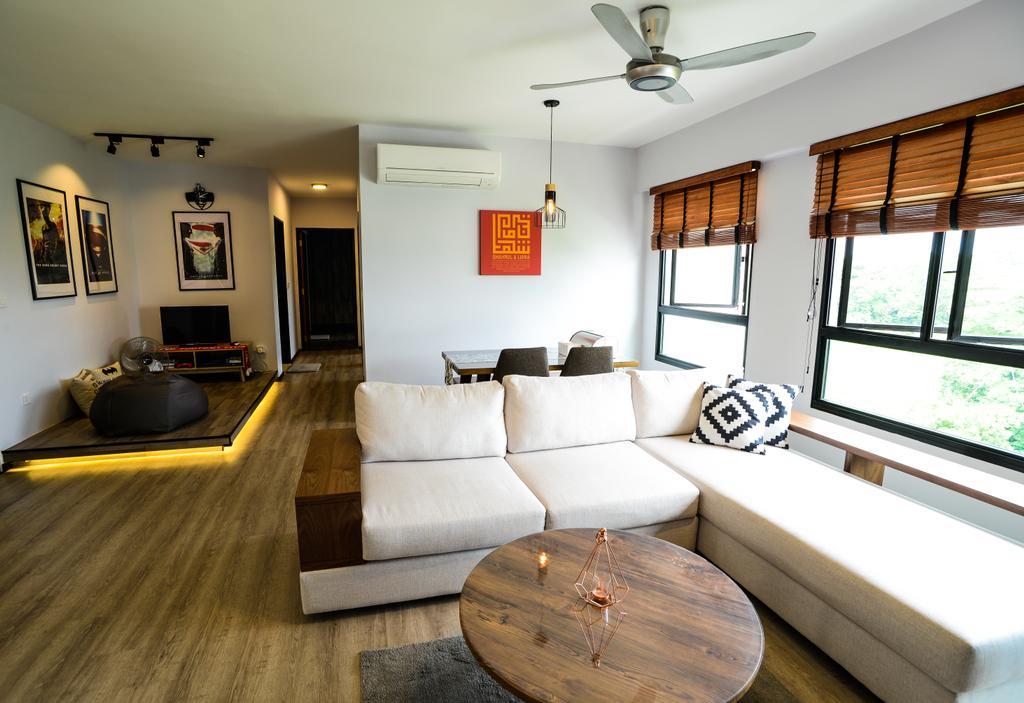 Minimalistic, HDB, Yishun Avenue 4, Interior Designer, Tab Gallery, Industrial, Art, Art Gallery, Couch, Furniture, Indoors, Interior Design, Room