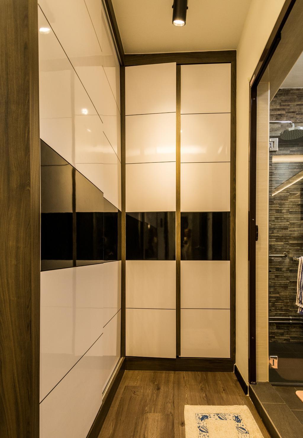 Contemporary, HDB, Bathroom, Jurong West Street 64, Interior Designer, Tab Gallery, Collage, Poster