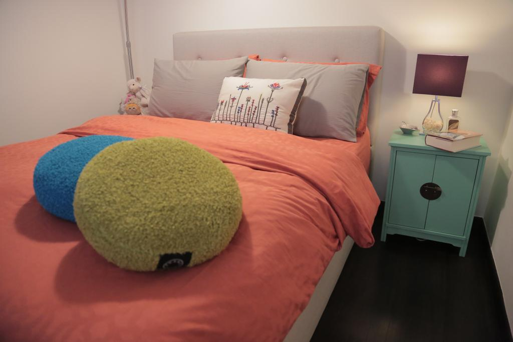 Contemporary, Landed, Bedroom, Tai Hwan Crescent, Interior Designer, Forefront Interior, Lamp