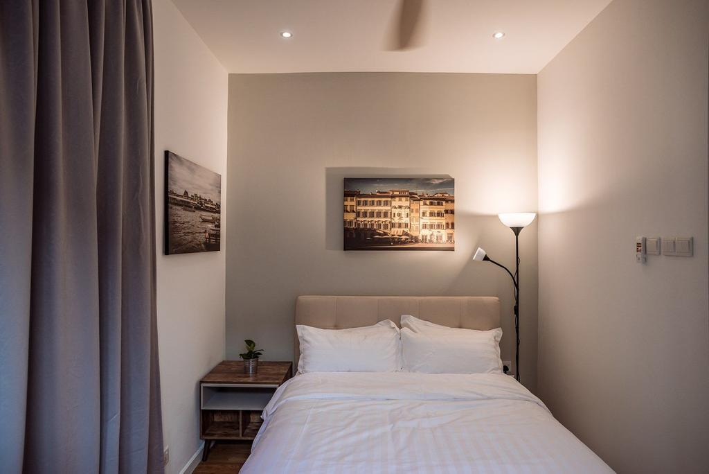 Contemporary, Landed, Bedroom, The Enclave, Ipoh, Architect, Code Red Studio, Indoors, Interior Design, Room
