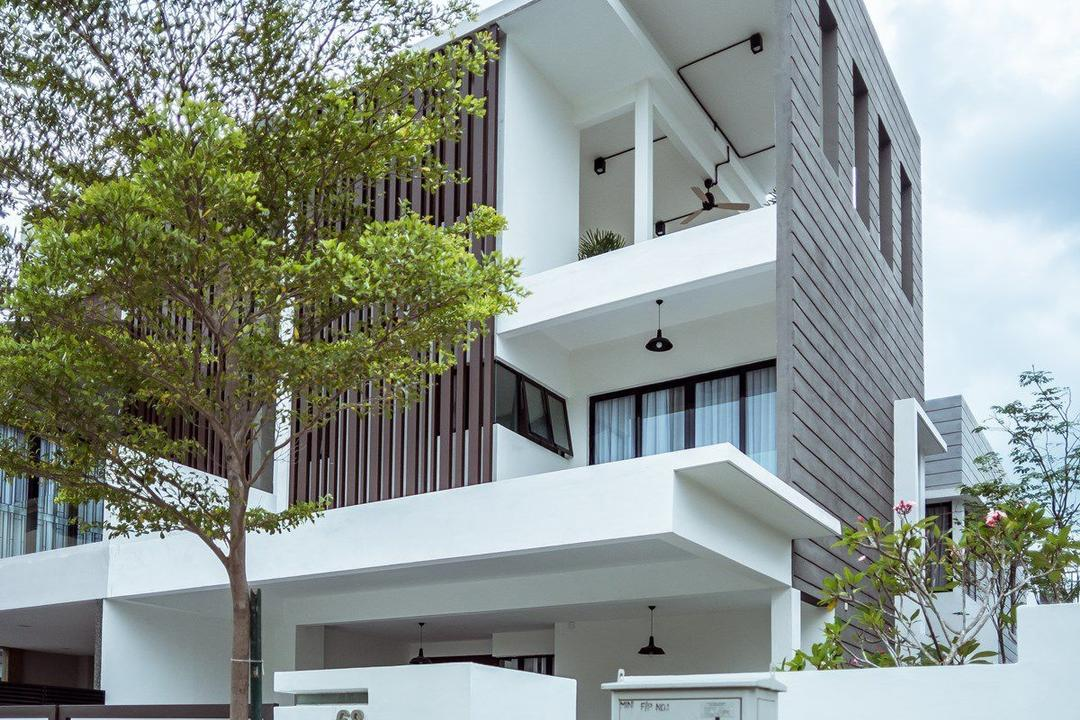 The Enclave, Ipoh, Code Red Studio, Contemporary, Landed, Flora, Jar, Plant, Potted Plant, Pottery, Vase, Building, House, Housing, Villa