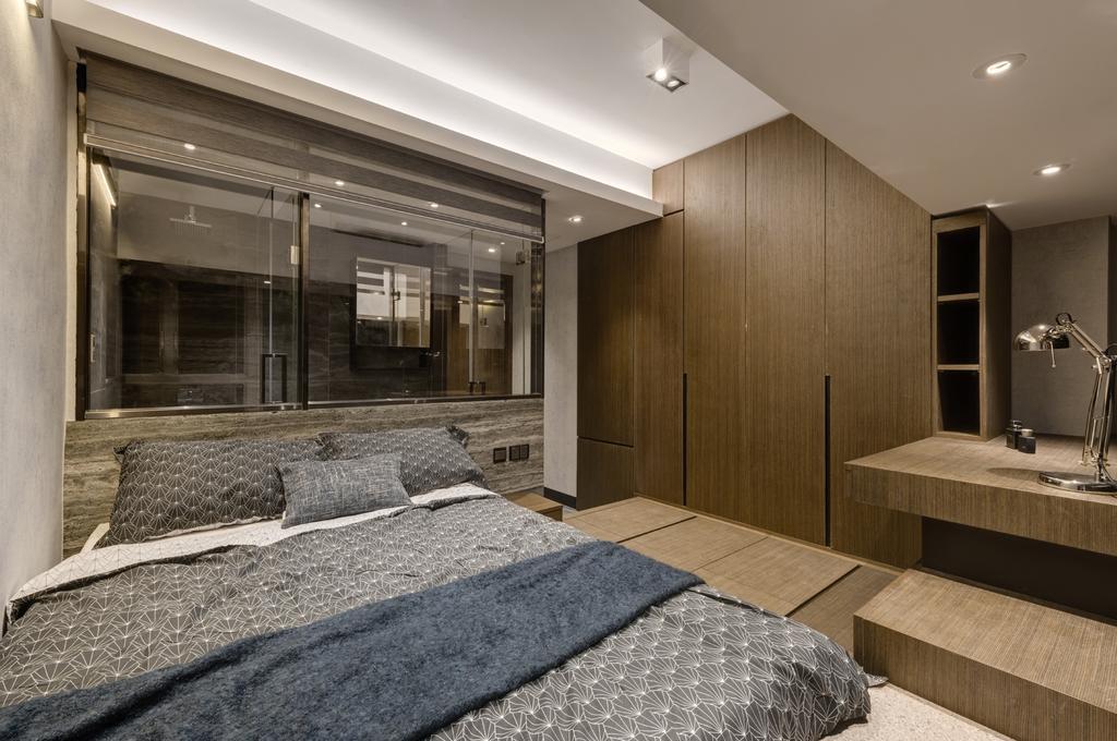 摩登, 私家樓, 睡房, 都會駅, 室內設計師, Pixel Interior Design, Lighting, Sink