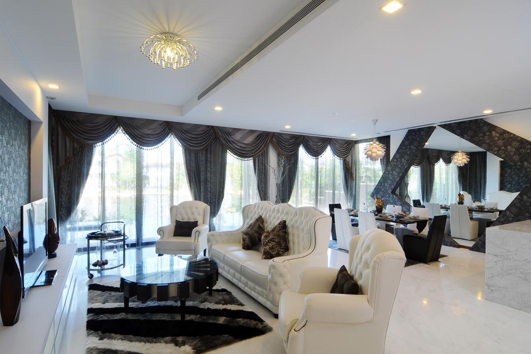 Sentosa Cove Living Room Interior Design 8