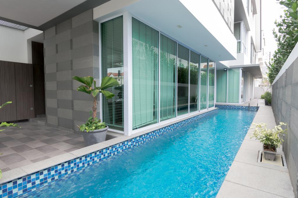 Contemporary, Landed, Garden, Frankel Avenue, Interior Designer, Imago Dei 3, Pool, Water, Building, House, Housing, Villa, Hotel, Resort, Swimming Pool