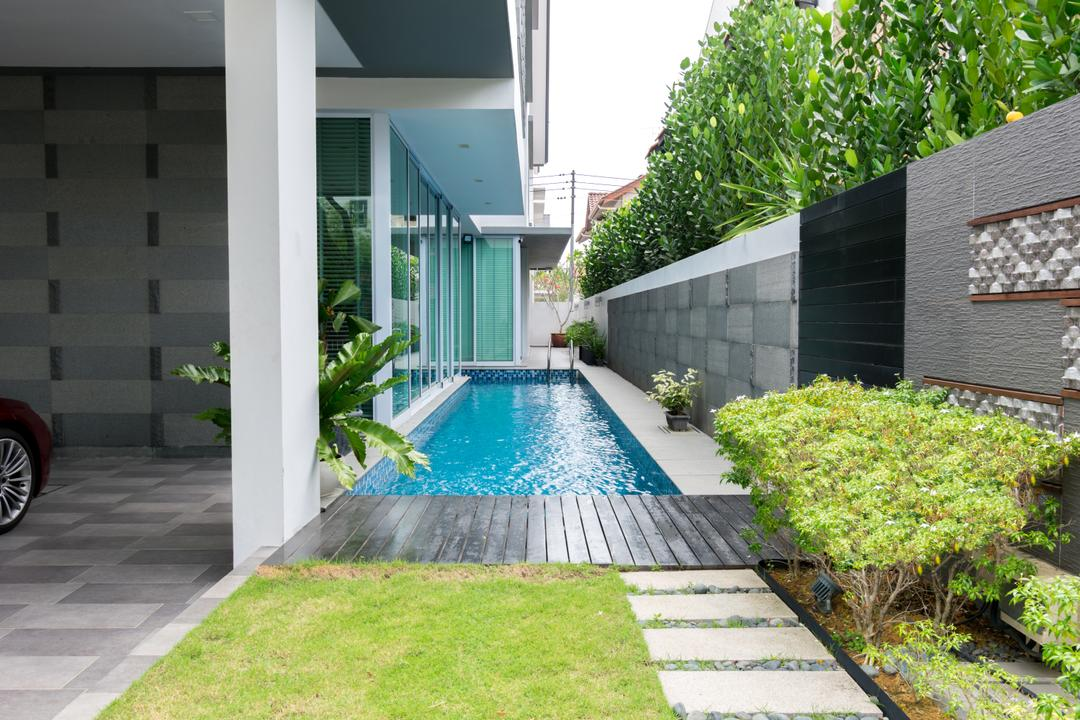 Frankel Avenue, Imago Dei 3, Contemporary, Garden, Landed, Building, House, Housing, Villa, Outdoors, Yard, Pool, Water, Backyard