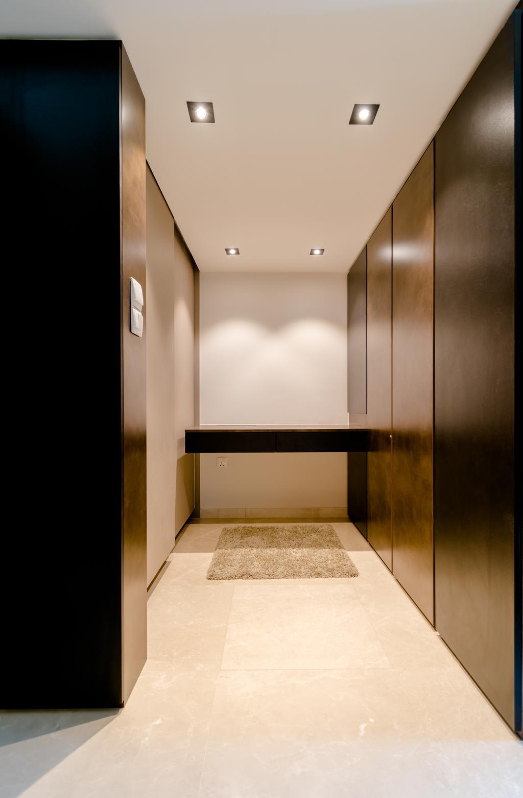 Modern, Condo, Bedroom, The Glades @ Tanah Merah, Interior Designer, Imago Dei 3, Corridor, Indoors, Interior Design