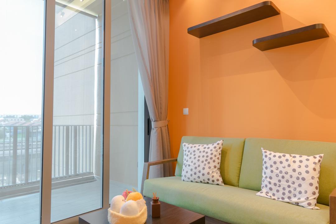 The Glades @ Tanah Merah, Imago Dei 3, Modern, Living Room, Condo, Cushion, Home Decor