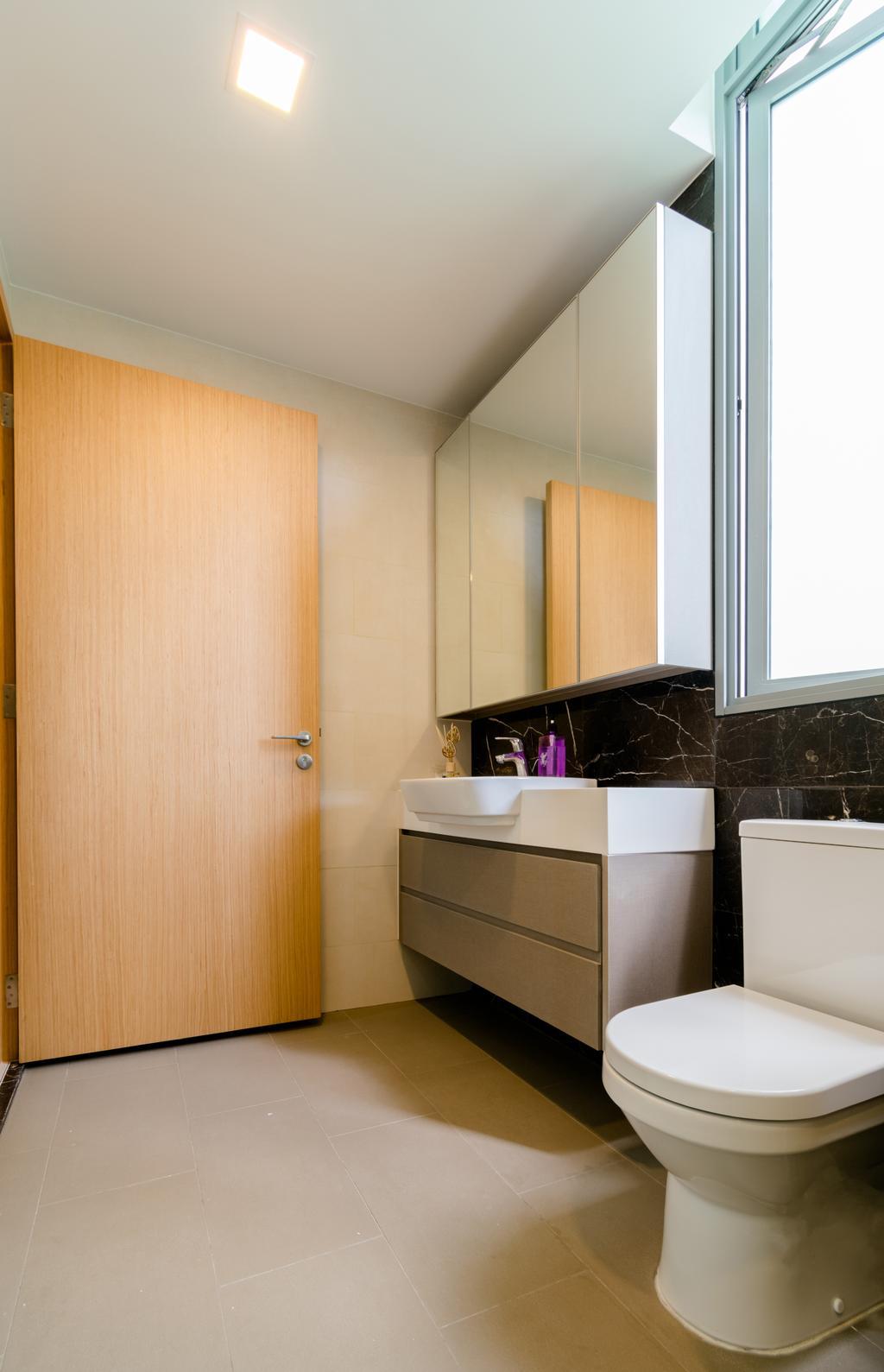 Modern, Condo, Bathroom, The Glades @ Tanah Merah, Interior Designer, Imago Dei 3
