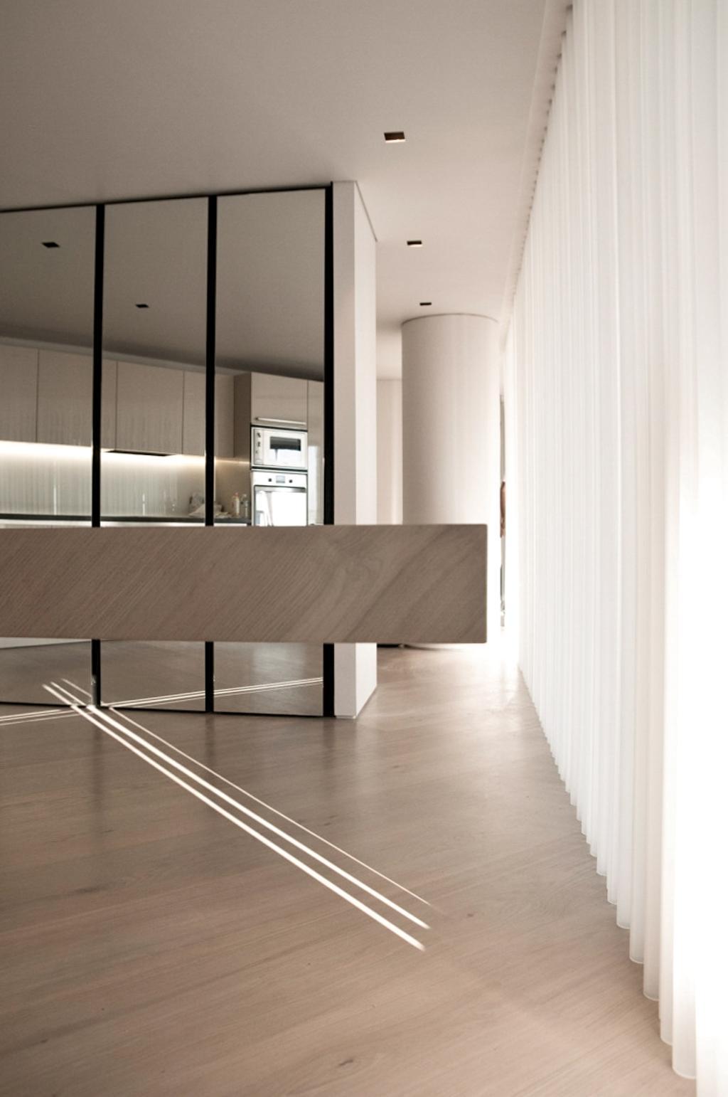 Minimalist, Condo, Kitchen, Paterson Suites, Interior Designer, Imago Dei 3, Door, Sliding Door