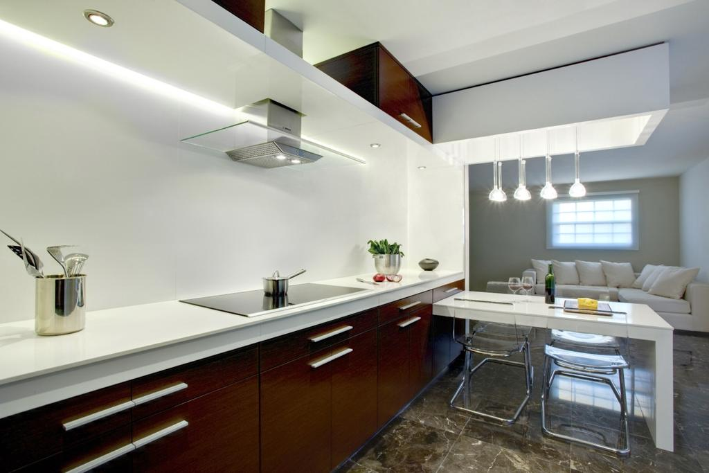 Contemporary, Condo, Kitchen, The Light @ Cairnhill, Interior Designer, Imago Dei 3, Indoors, Interior Design, Room, HDB, Building, Housing, Loft, Appliance, Electrical Device, Oven