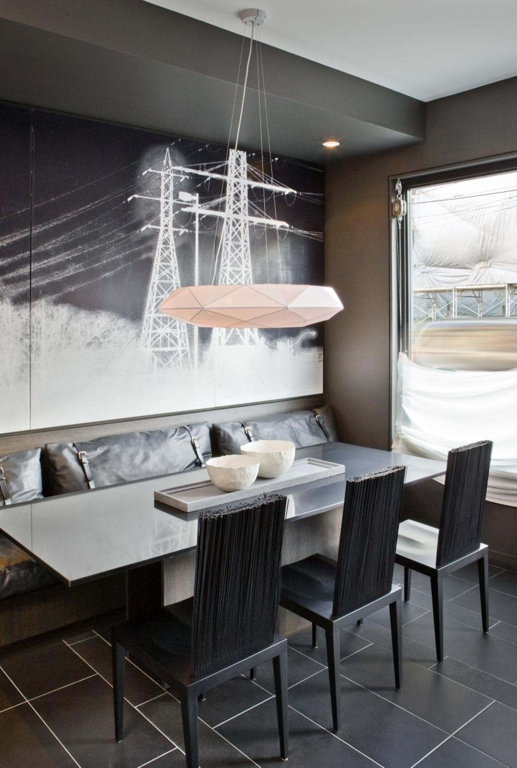Modern, Condo, Dining Room, The Central, Interior Designer, Imago Dei 3