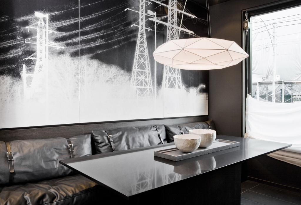 Modern, Condo, Dining Room, The Central, Interior Designer, Imago Dei 3, Canopy, Umbrella