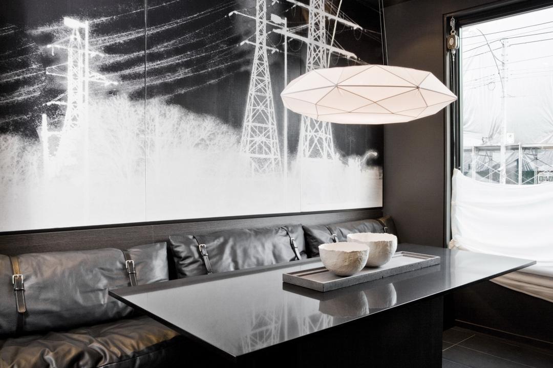 The Central, Imago Dei 3, Modern, Dining Room, Condo, Canopy, Umbrella