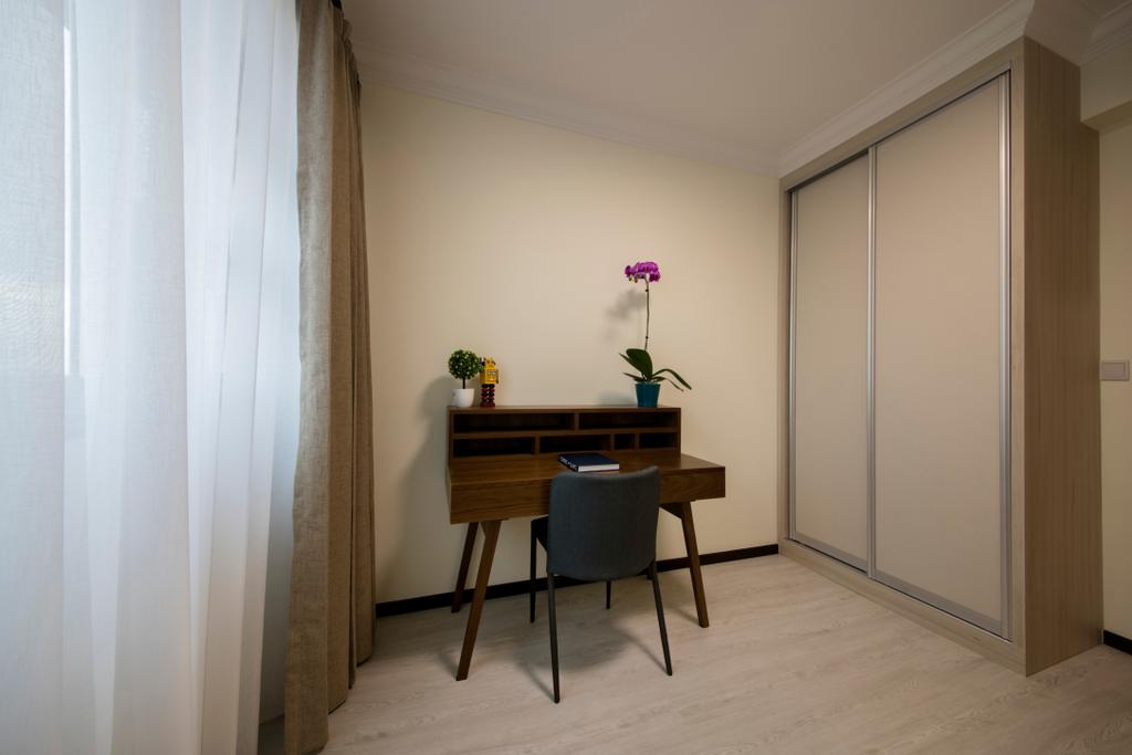 Modern, HDB, Clementi (Block 312B), Interior Designer, ECasa Studio, Minimalistic, Chair, Furniture, Building, Housing, Indoors, Dining Table, Table