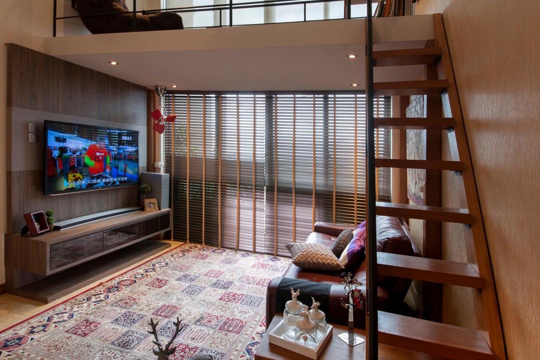 Upper Changi Road, ECasa Studio, Contemporary, Condo, Electronics, Monitor, Screen, Tv, Television