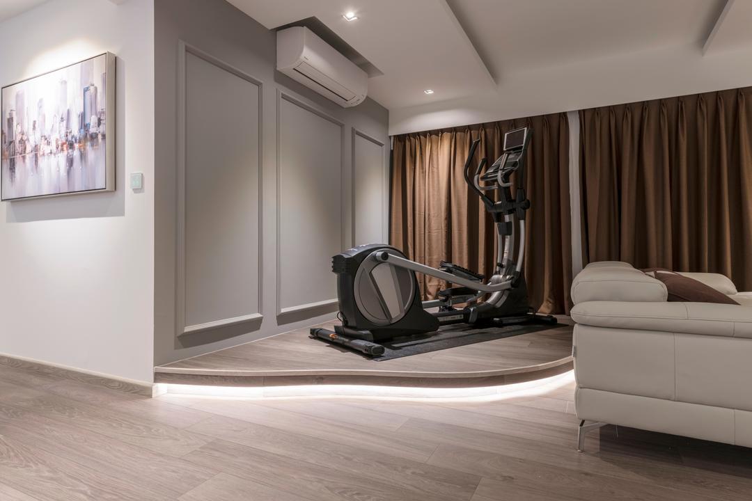 Yishun Avenue 4, M+L Associates, Modern, Scandinavian, HDB, Art, Modern Art, Indoors, Interior Design, Light Fixture, Molding