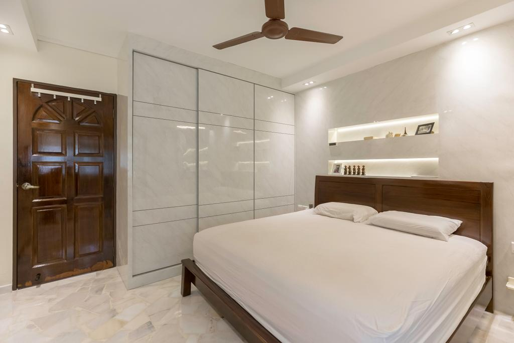 Modern, HDB, Bedroom, Tampines Street 33, Interior Designer, PHD Posh Home Design, Bed, Furniture