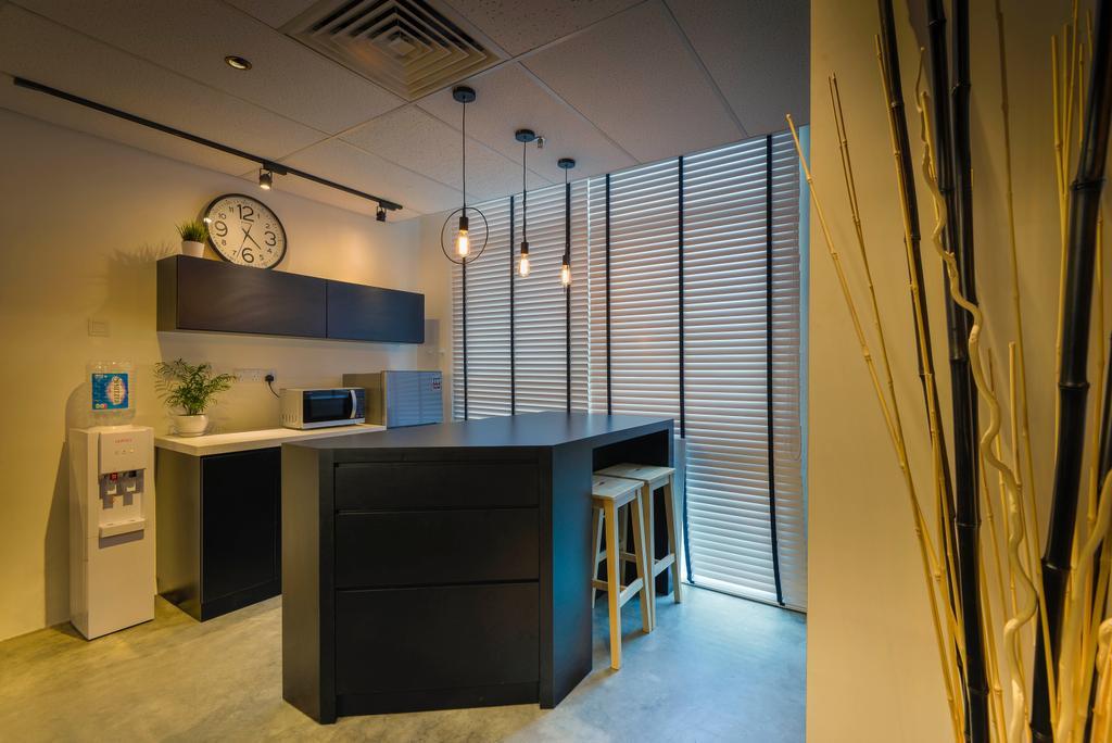 Dot Works Office, Commercial, Interior Designer, Dot Works, Industrial, Furniture, Sideboard, Appliance, Electrical Device, Oven