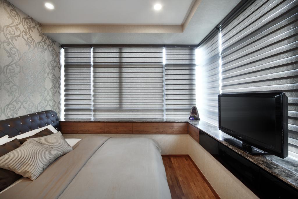 Modern, Condo, Bedroom, Rochelle @Newton, Interior Designer, Briey Interior