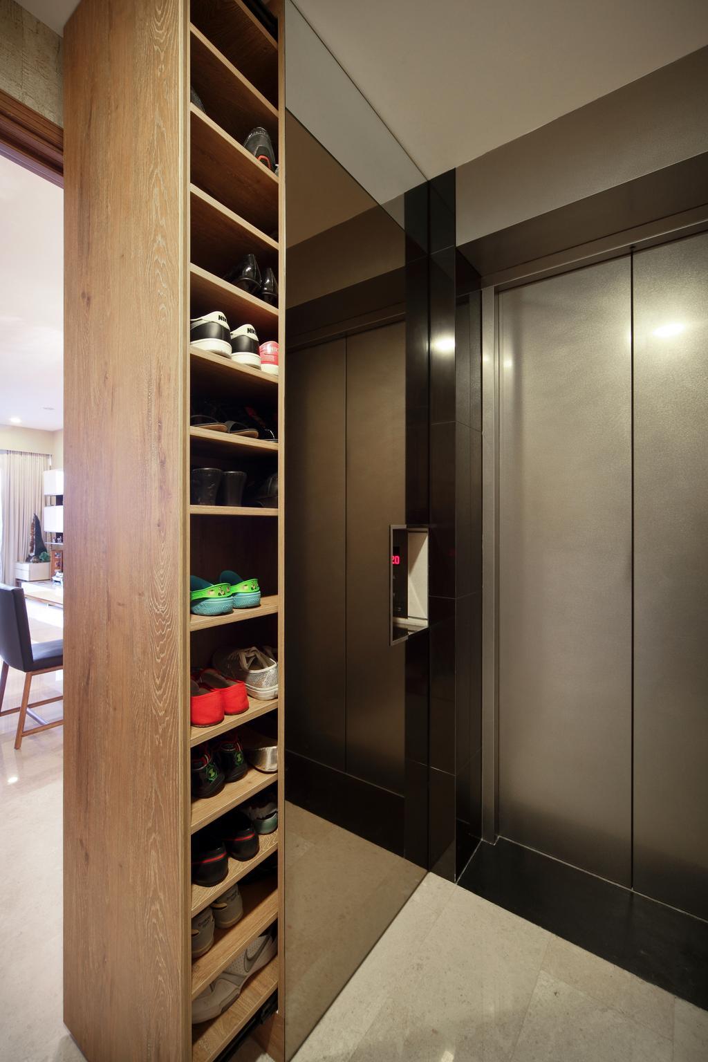 Modern, Condo, Rochelle @Newton, Interior Designer, Briey Interior, Shelf