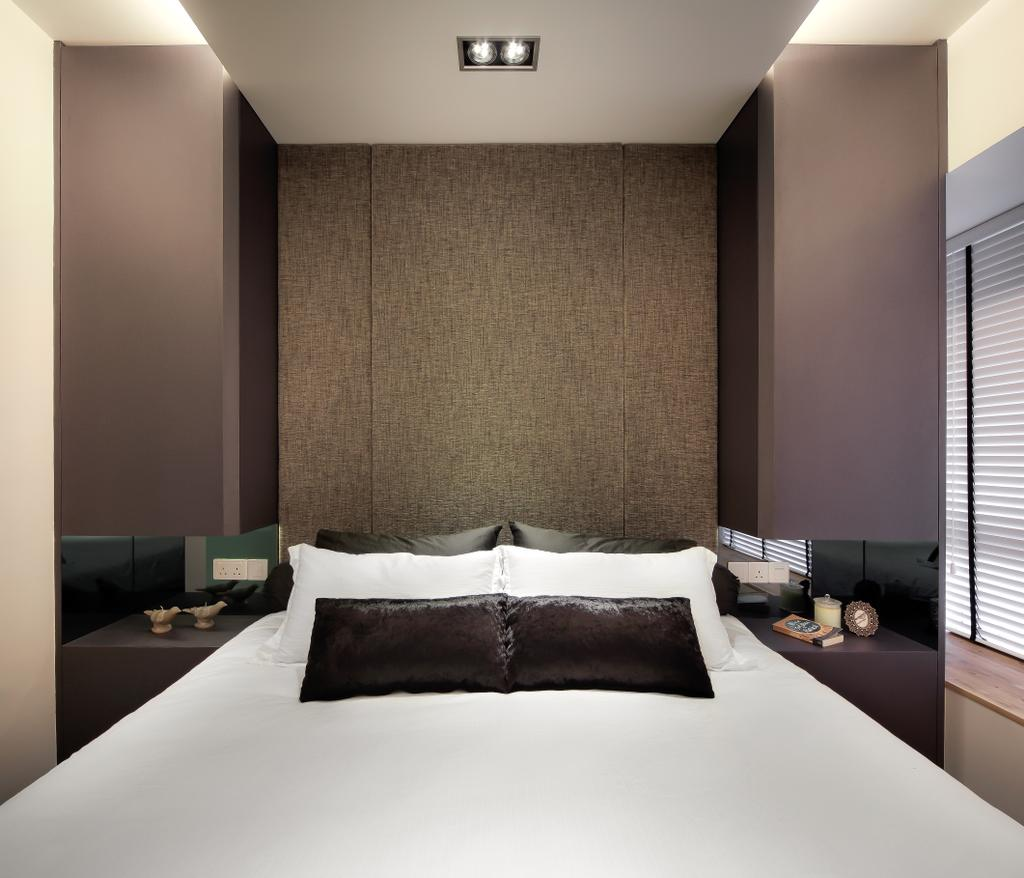 Modern, Condo, Bedroom, The Mercury, Interior Designer, Briey Interior, Contemporary, Indoors, Room, Interior Design