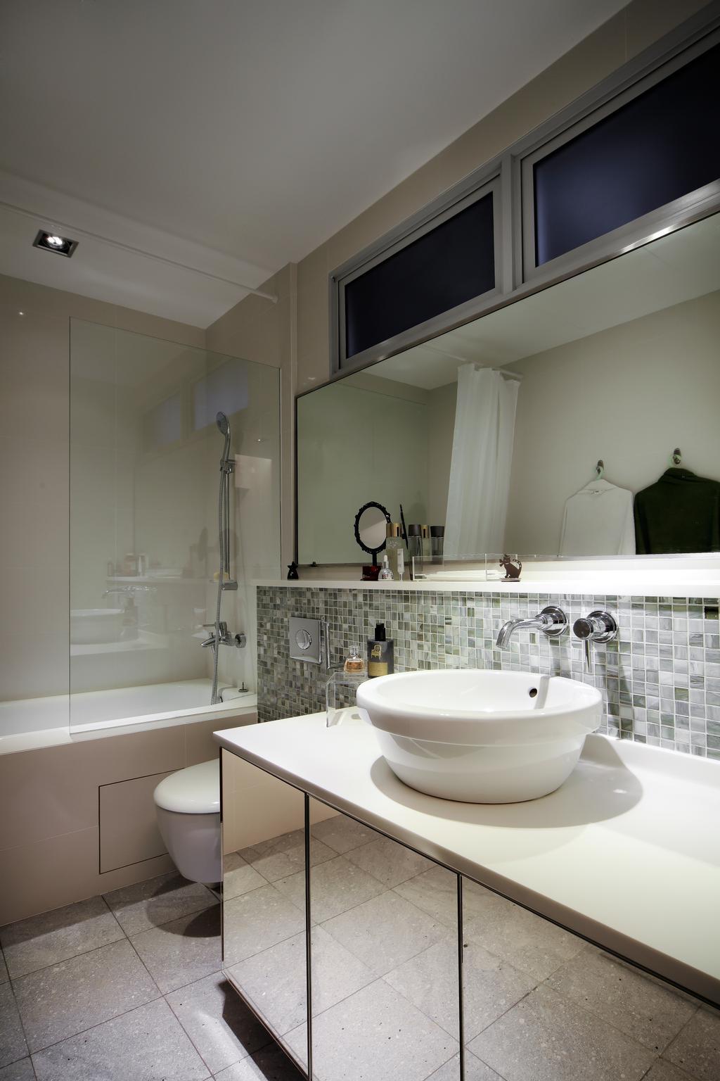 Modern, Condo, Bathroom, The Mercury, Interior Designer, Briey Interior, Contemporary, Indoors, Interior Design, Room