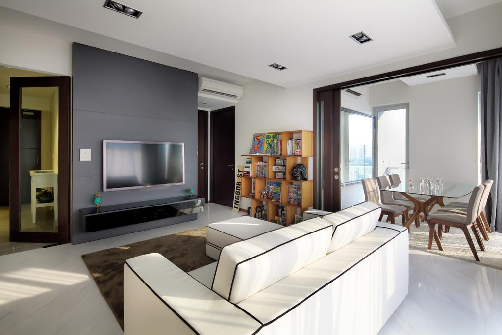 Modern, Condo, Living Room, The Mercury, Interior Designer, Briey Interior, Contemporary, Dining Table, Furniture, Table, Indoors, Interior Design, Room