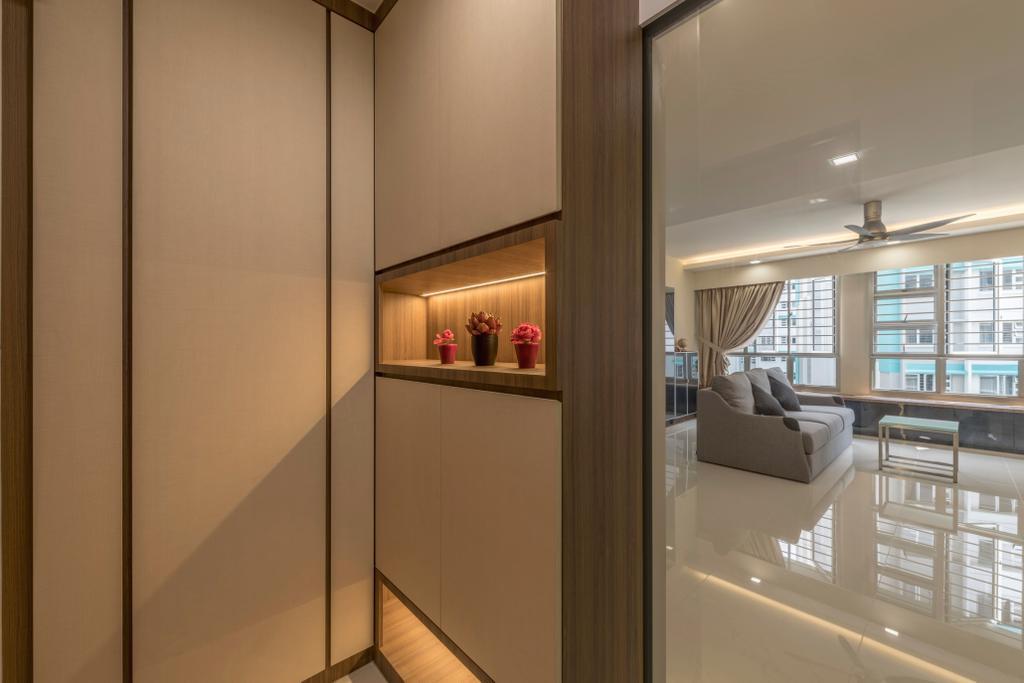 Modern, HDB, Living Room, Woodlands Rise, Interior Designer, DS 2000 Interior & Design, Building, Housing, Indoors, Molding