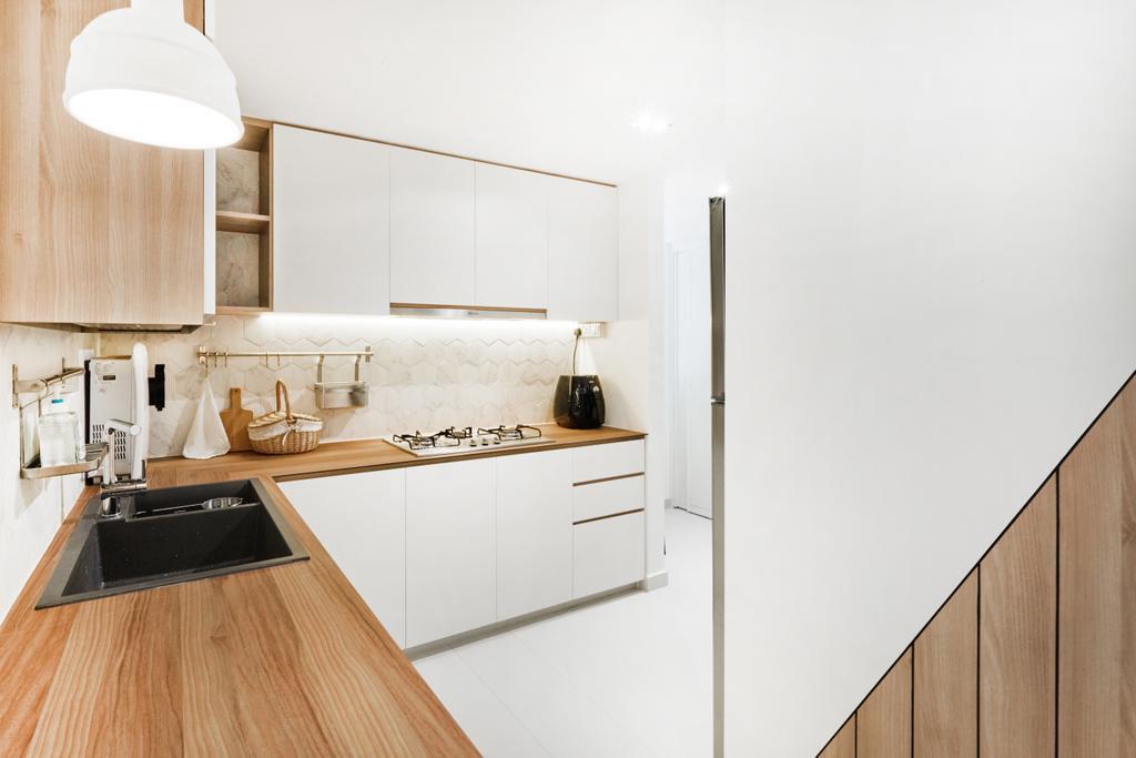 Scandinavian, Condo, Bellewaters, Interior Designer, Lemonfridge Studio, Indoors, Interior Design