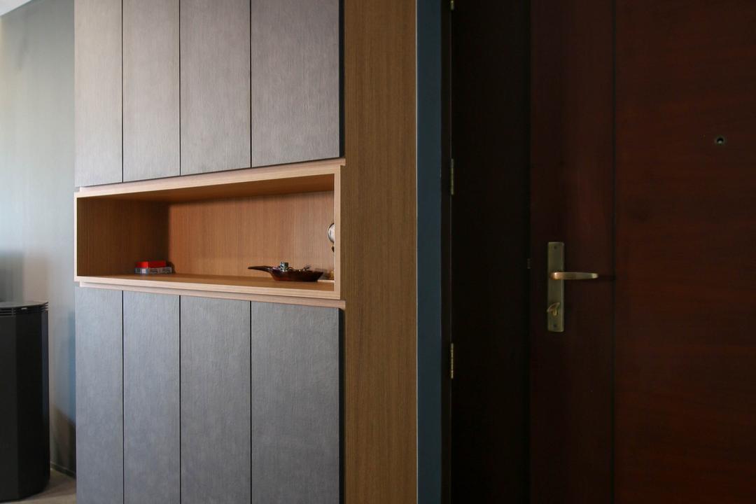 Compassvale Link, Carpenters 匠, Contemporary, Eclectic, HDB, Door, Sliding Door, Closet, Cupboard, Furniture