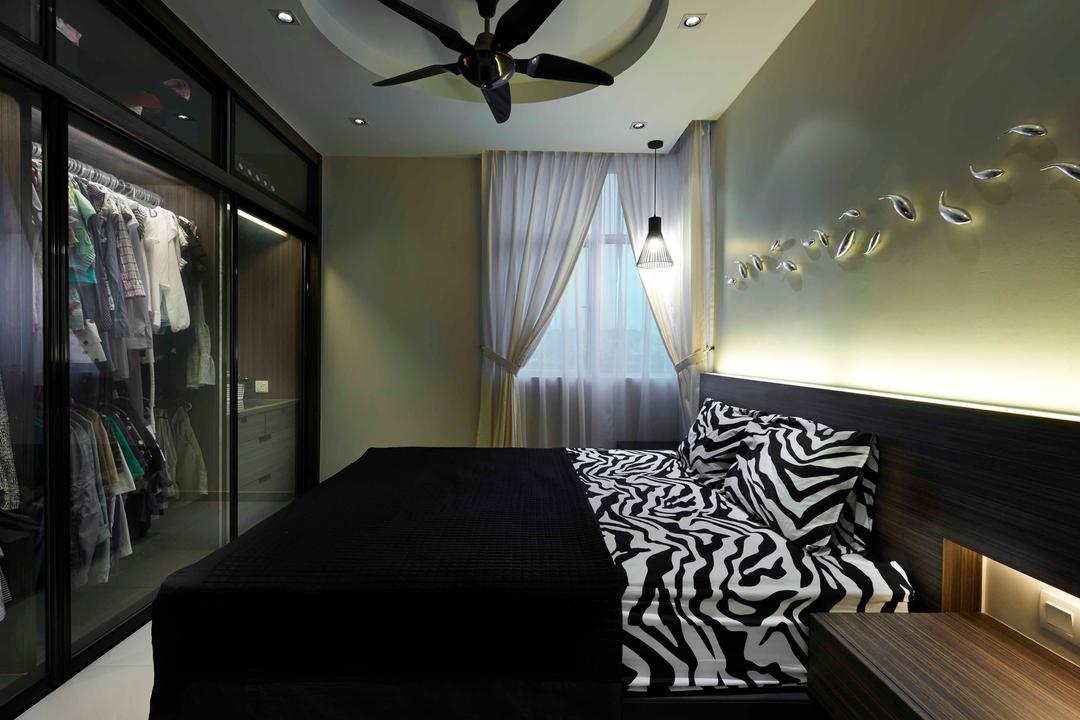 Midfields, Surface R Sdn. Bhd., Contemporary, Bedroom, Condo, Propeller, Indoors, Interior Design, Room