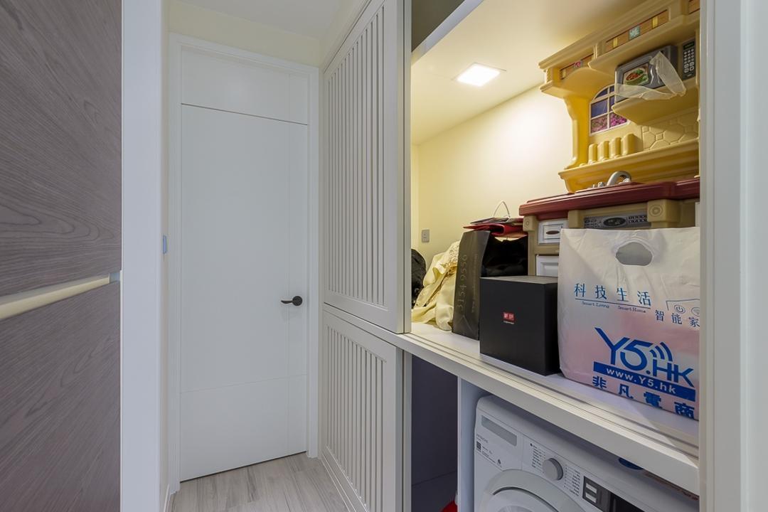 一號銀海, 和生設計, 摩登, 廚房, 私家樓, Appliance, Electrical Device, Fridge, Refrigerator, Flooring