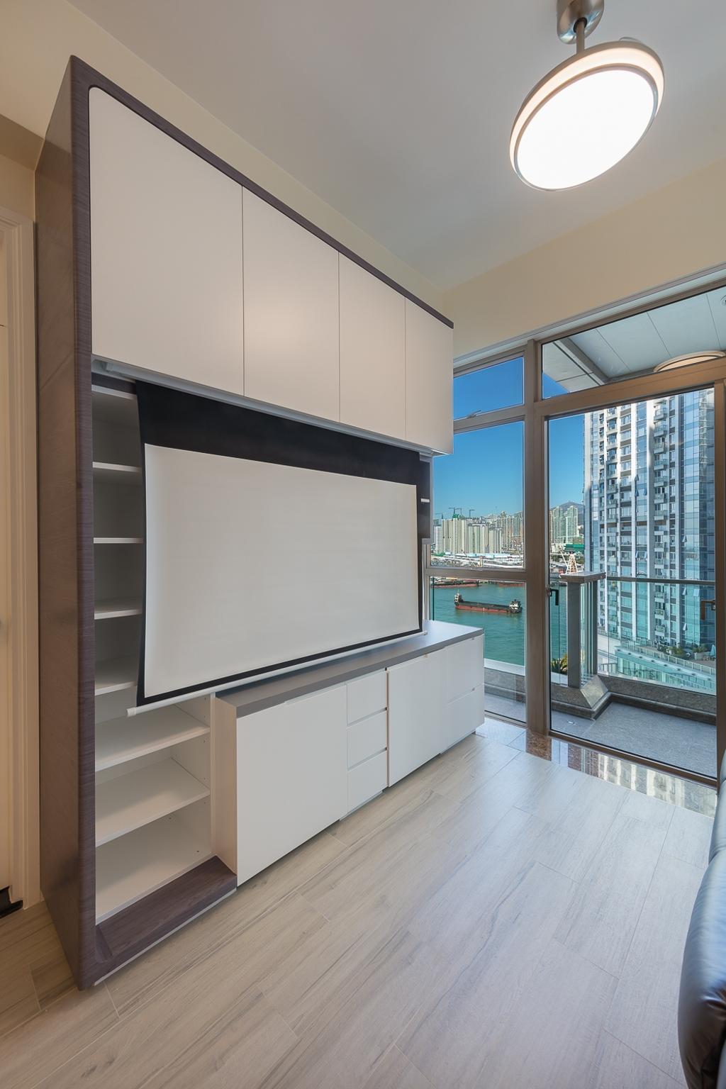 摩登, 私家樓, 客廳, 一號銀海, 室內設計師, 和生設計