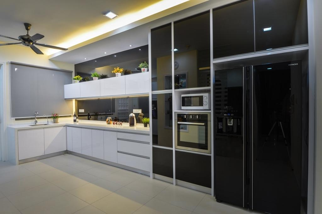 Traditional, Landed, Kitchen, Setia Eco Park 2, Interior Designer, Surface R Sdn. Bhd.