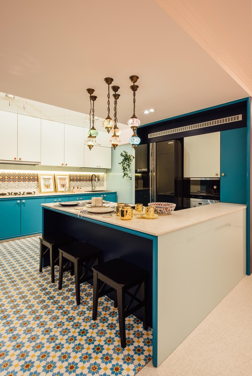 Modern, HDB, Kitchen, Canberra Street, Interior Designer, Fatema Design Studio, Indoors, Interior Design, Room