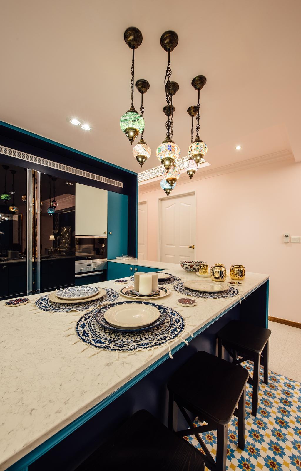Modern, HDB, Dining Room, Canberra Street, Interior Designer, Fatema Design Studio, Appliance, Electrical Device, Oven, Indoors, Interior Design, Room, Light Fixture
