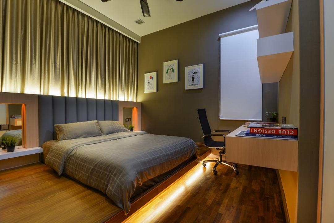 Setia Eco Park 2, Surface R Sdn. Bhd., Traditional, Bedroom, Landed, Flora, Jar, Plant, Potted Plant, Pottery, Vase, Indoors, Interior Design, Room, Box