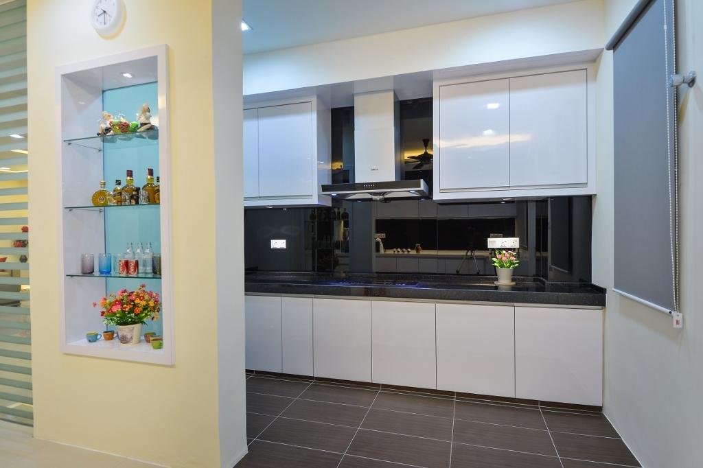 Traditional, Landed, Kitchen, Setia Eco Park 2, Interior Designer, Surface R Sdn. Bhd., Flora, Jar, Plant, Potted Plant, Pottery, Vase