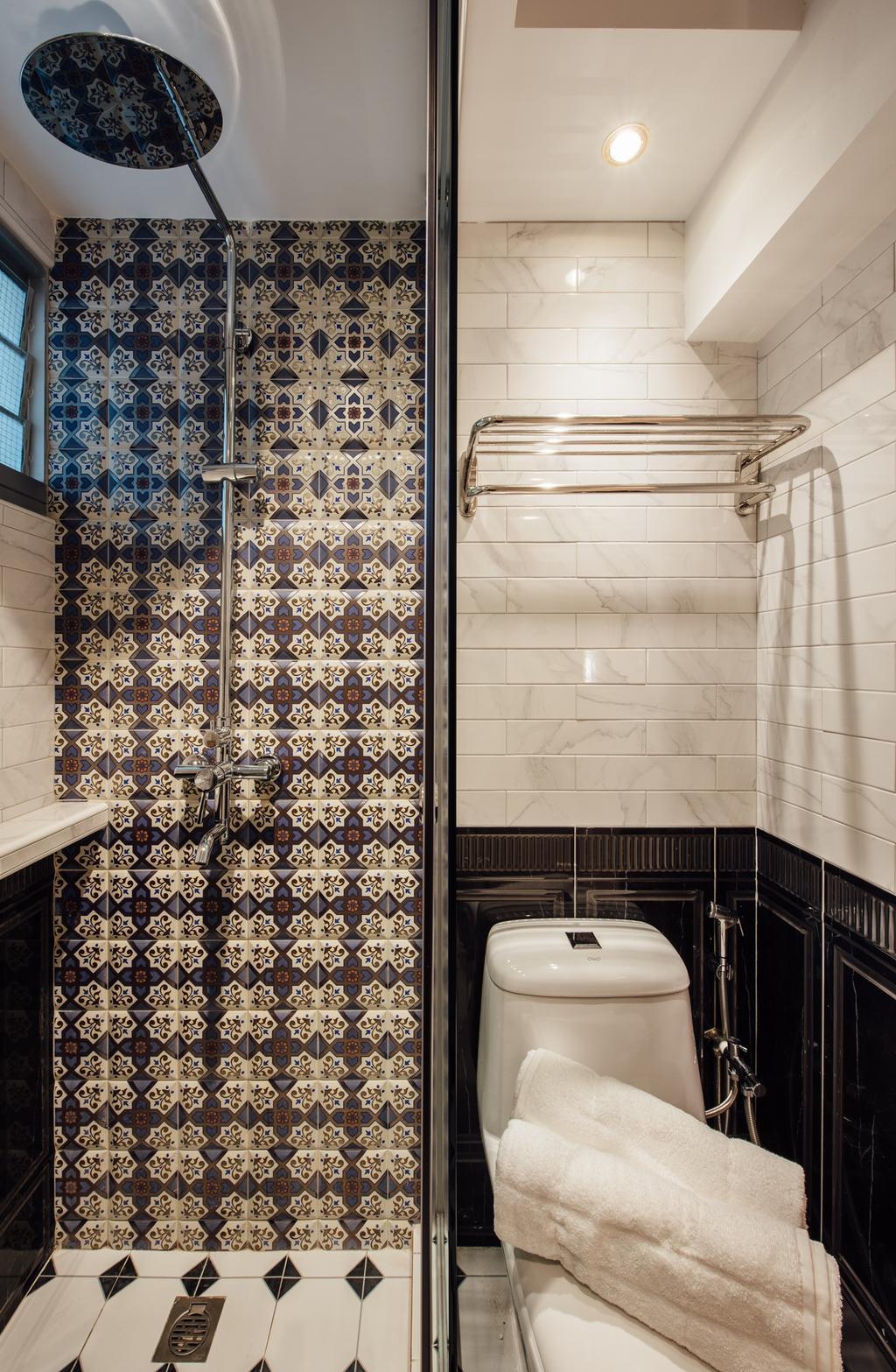 Modern, HDB, Bathroom, Canberra Street, Interior Designer, Fatema Design Studio, Indoors, Interior Design, Room
