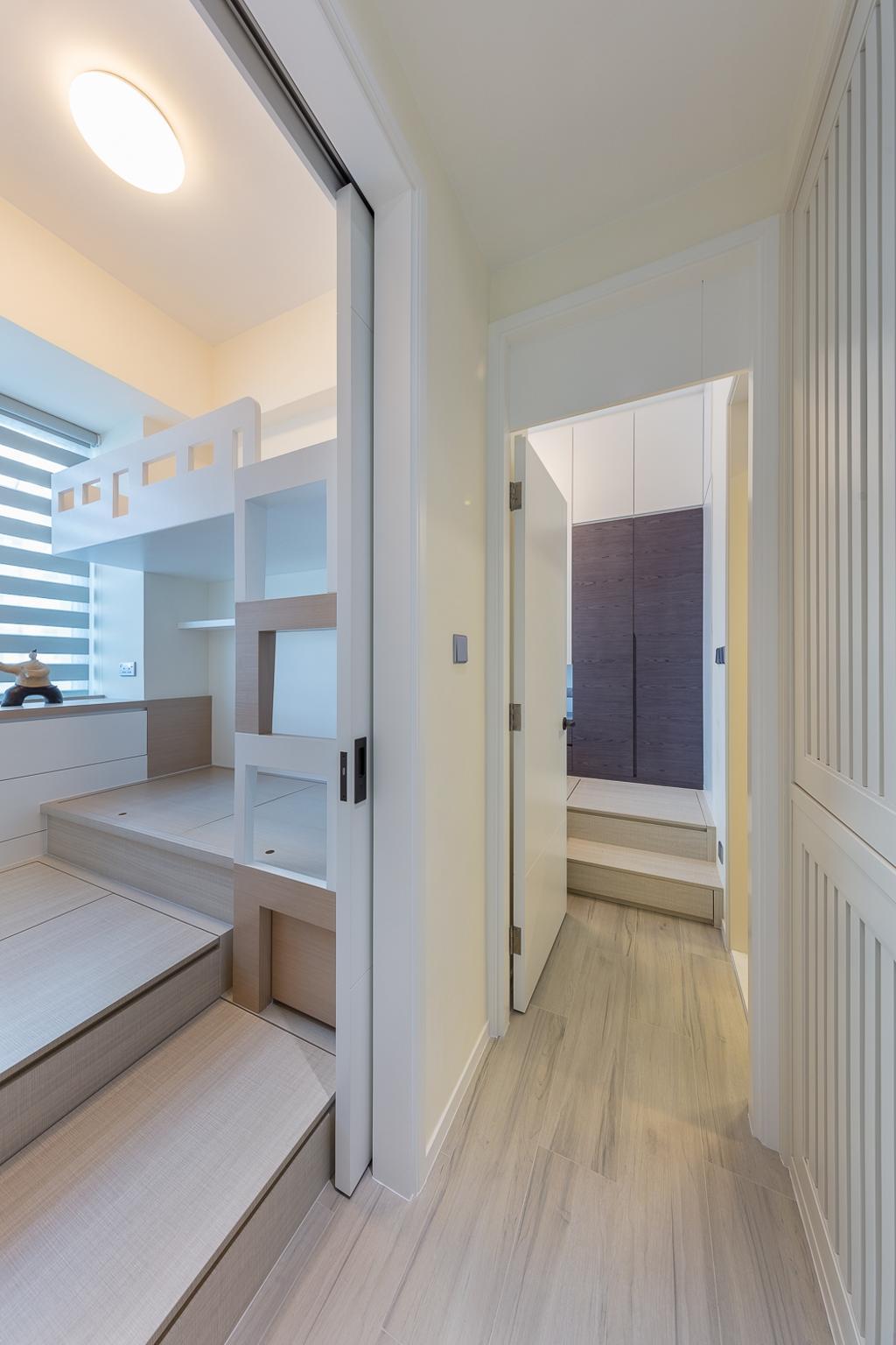 摩登, 私家樓, 睡房, 一號銀海, 室內設計師, 和生設計, Indoors, Interior Design