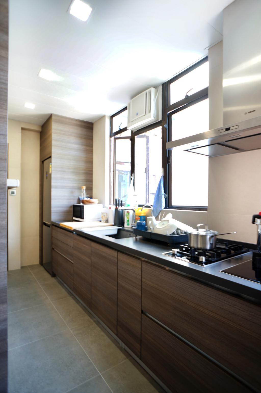 簡約, 私家樓, 廚房, 龍騰閣, 室內設計師, 和生設計, Indoors, Interior Design, Room