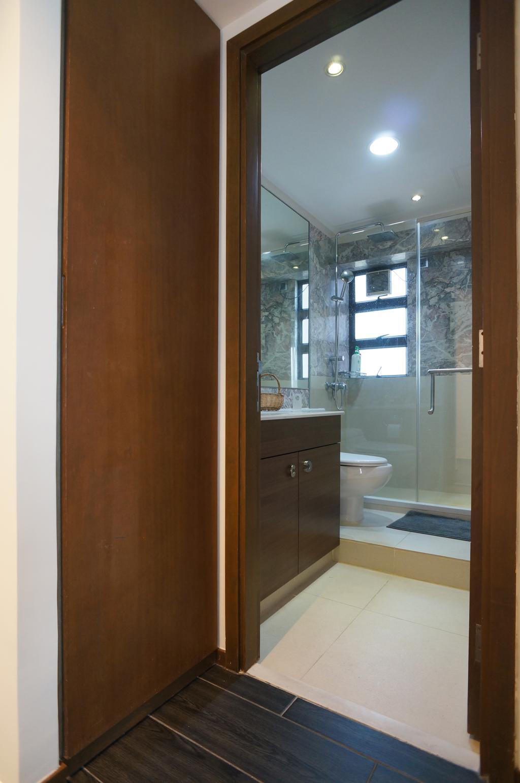 簡約, 私家樓, 浴室, 龍騰閣, 室內設計師, 和生設計, Toilet