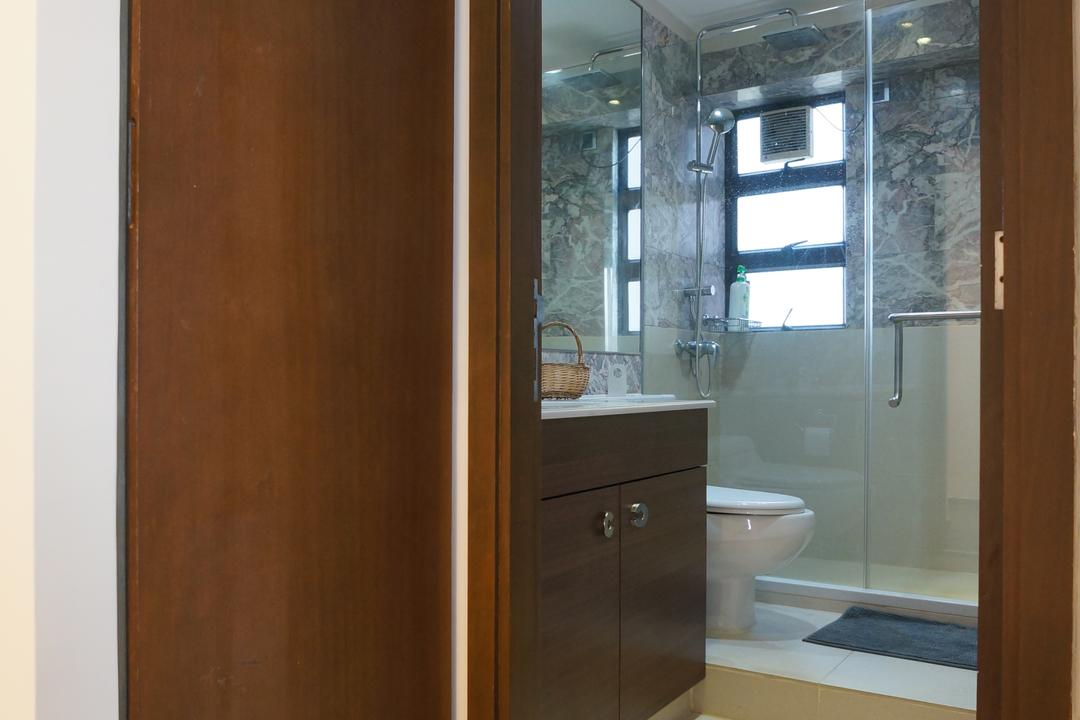 龍騰閣, 和生設計, 簡約, 浴室, 私家樓, Toilet