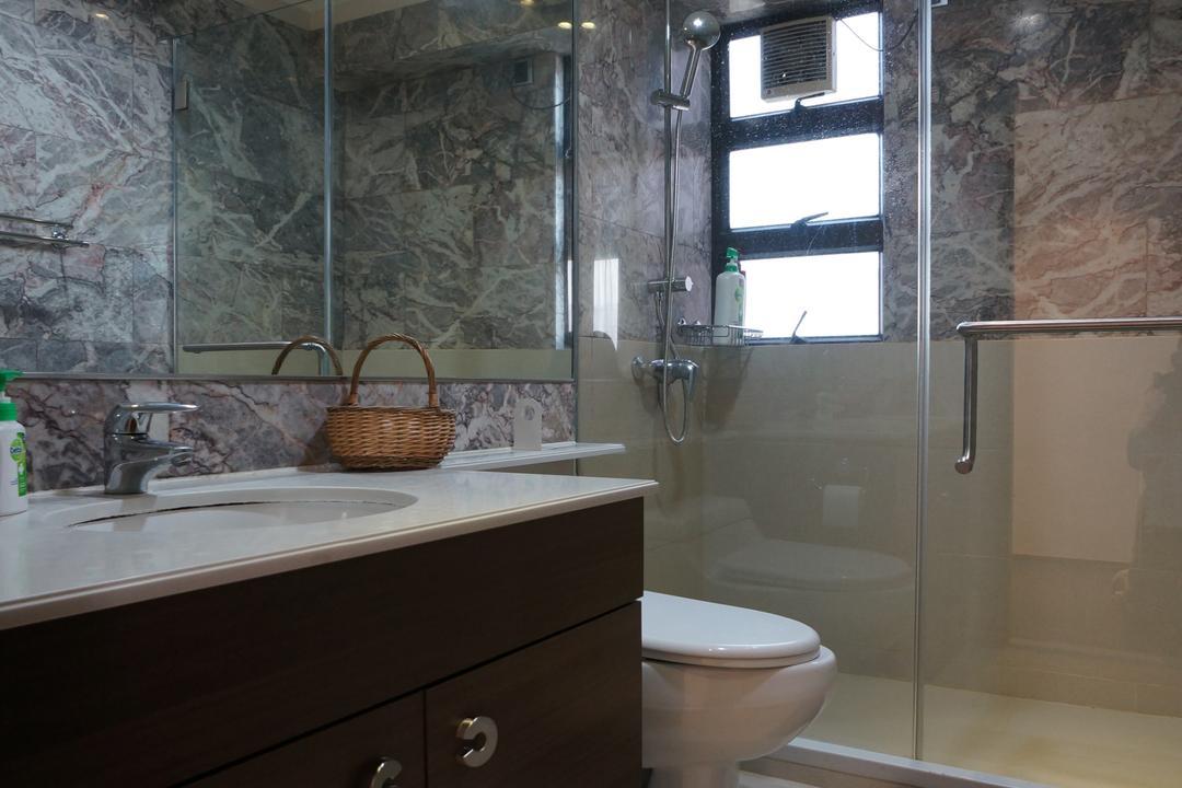 龍騰閣, 和生設計, 簡約, 浴室, 私家樓, Toilet, Basket