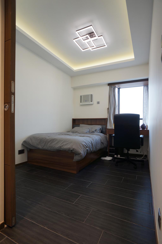 簡約, 私家樓, 睡房, 龍騰閣, 室內設計師, 和生設計, Chair, Furniture, Bed, Indoors, Interior Design, Room