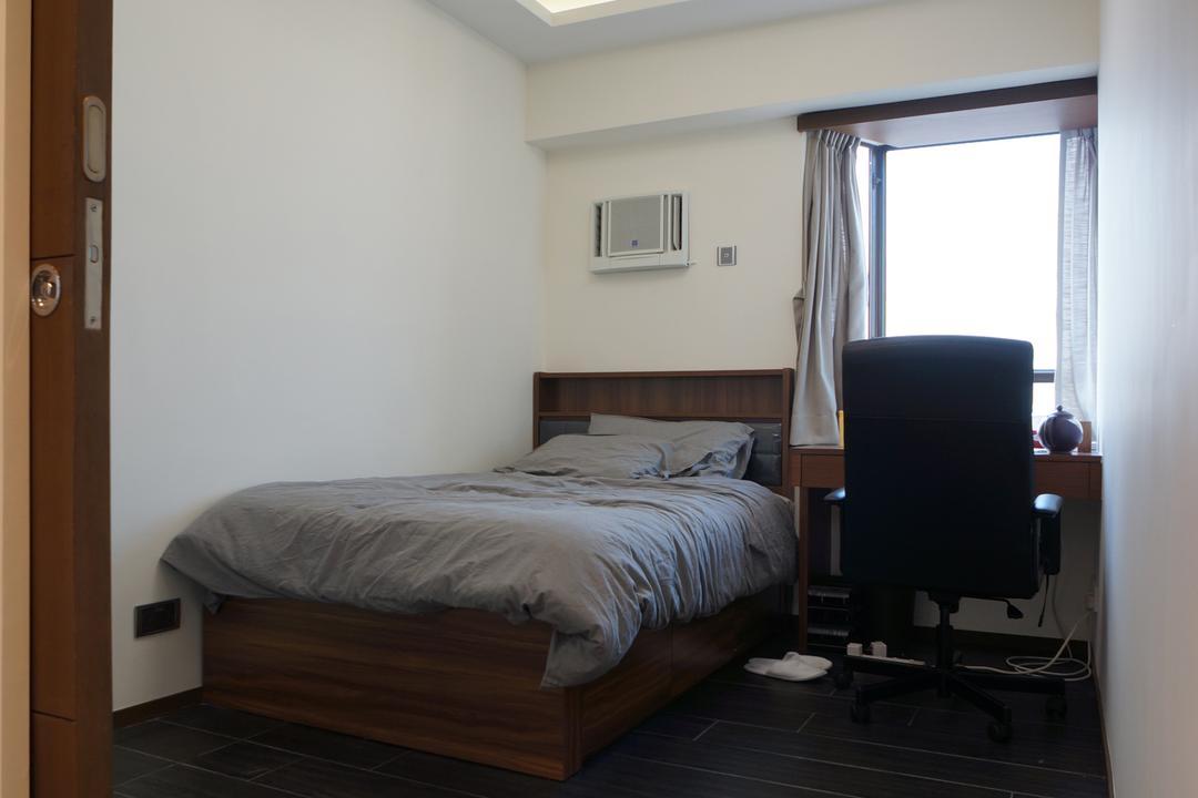 龍騰閣, 和生設計, 簡約, 睡房, 私家樓, Chair, Furniture, Bed, Indoors, Interior Design, Room